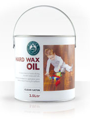 Hard wax oil for engineered flooring