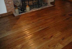 Worn Look Oak Flooring
